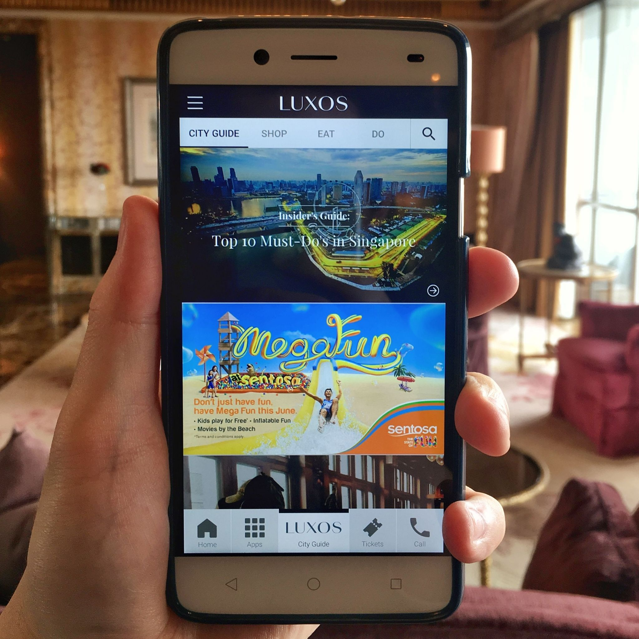 Handy Smartphone | The St. Regis Singapore